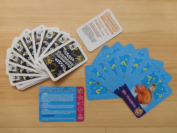 Dieren spelletjeskaarten
