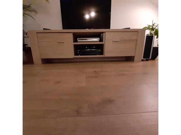 Licht berken  tv meubel