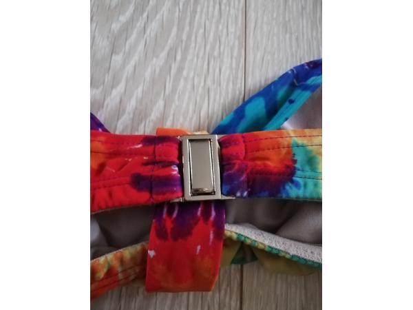 bikinitop kleurrijk tye dye L